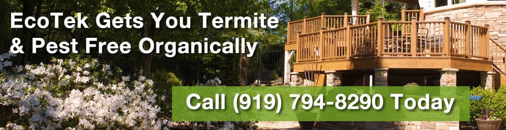 Ecotek termite pest control durham nc