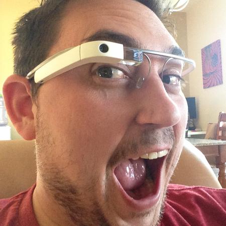 Profile image google glass